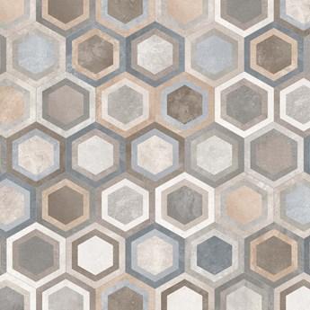 Hexágono Bushmills Multicolor 23x26,6
