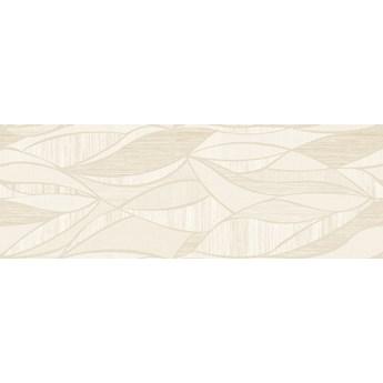 Decor Lino Blanco Hojas 31,6x90