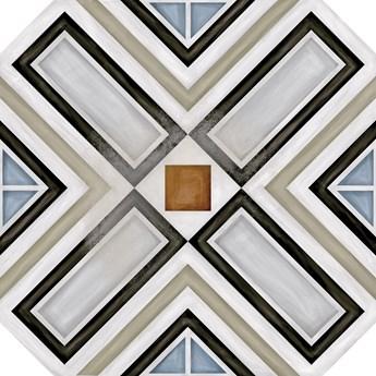 Octógono Ritter Multicolor 20x20