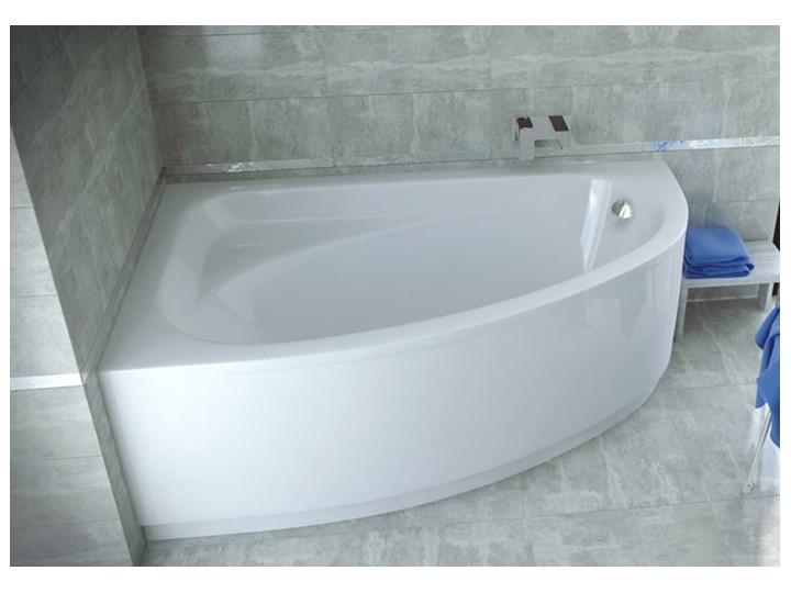 Wanna narożna asymetryczna Cornea Comfort 150x100 Akryl Długość 157 cm Długość 150 cm