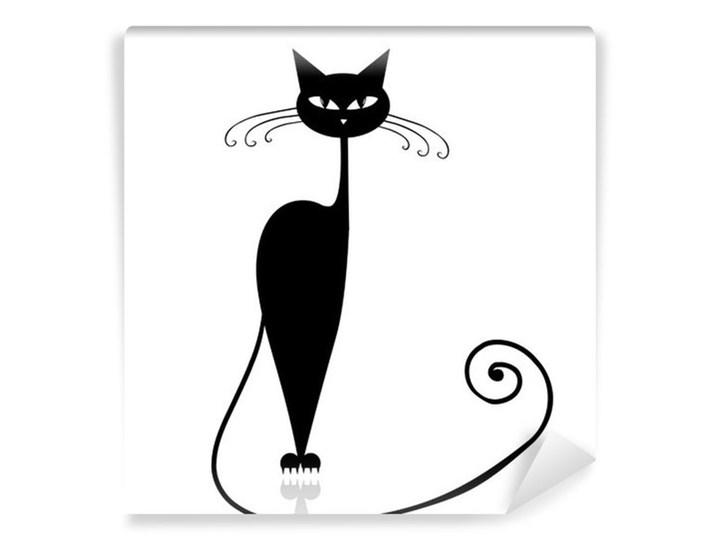 Fototapeta Czarny Kot Silhouette Dla Swojego Projektu Fototapety