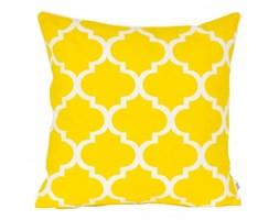 Poszewka dekoracyjna - Marokańska koniczyna -Żółta