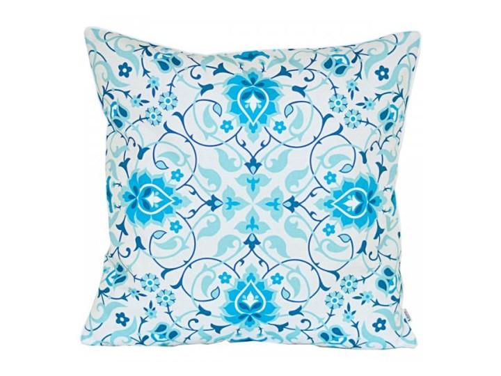 Poszewka dekoracyjna - Niebieska Arabeska