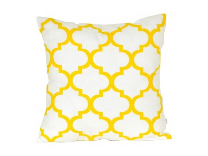 Poszewka dekoracyjna - Marokańska koniczyna-Żółta