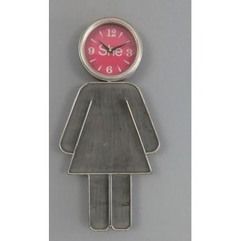 """Oryginalny zegar ścienny """" She"""""""