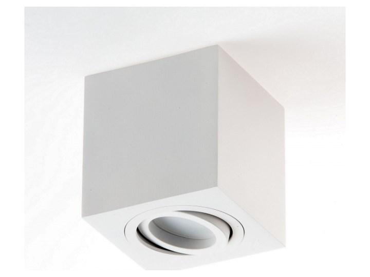 LM P 201 LAMPA SUFITOWA PLAFON KOSTKA NATYNKOWA ALUMINIUM BIAŁY PAR16 GU10 LED Oprawa led Oprawa stropowa Kwadratowe Kategoria Oprawy oświetleniowe