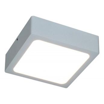 LM P 401 WH IP44  PLAFON BIAŁY LAMPA SUFITOWA NATYNKOWA 8,8CM LED 8W 3000K 680lm=60W HERMETYCZNY