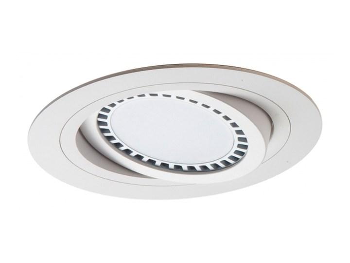 PP Design 620 WH OPRAWA HALOGENOWA LED WPUSZCZANA OCZKO REGULOWANA BIAŁY ES111 QR111 AR111 GU10 G53