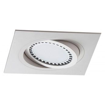 PP Design 621/1 OPRAWA HALOGENOWA LED WPUSZCZANA OCZKO REGULOWANA BIAŁY ES111 QR111 AR111 GU10 G53