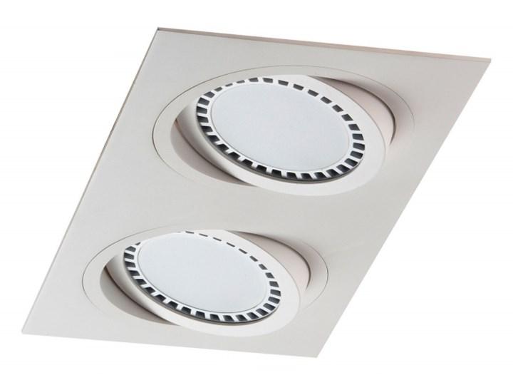 PP Design 621/2 OPRAWA HALOGENOWA LED WPUSZCZANA OCZKO REGULOWANA BIAŁY ES111 QR111 AR111 GU10 G53