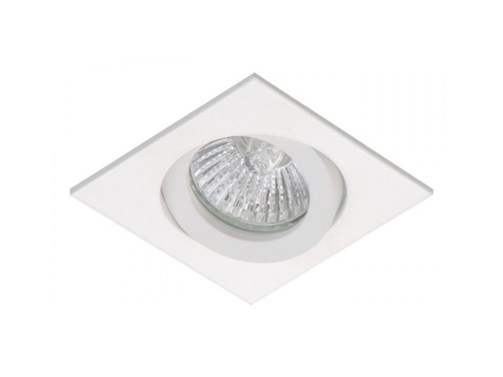 PP Design 821/1 OPRAWA HALOGENOWA LED WPUSZCZANA OCZKO REGULOWANA ALUMINIUM BIAŁY MR16 GU10 GU5,3
