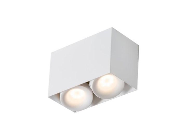 PP Design P 818/2 WH PLAFON NOWOCZESNA LAMPA SUFITOWA OPRAWA NATYNKOWA BIAŁY PAR16 GU10 LED