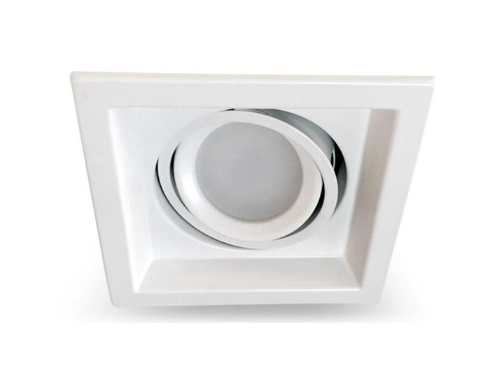 PP Design 750/1 OPRAWA HALOGENOWA LED WPUSZCZANA POJEDYNCZA REGULOWANA METAL BIAŁY MR16 GU10 GU5,3