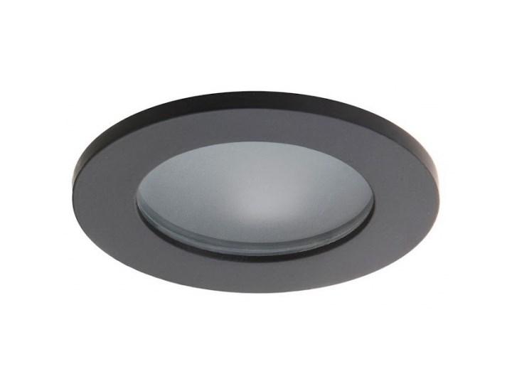 PP Design 823 BK OPRAWA HALOGENOWA LED WPUSZCZANA OCZKO CZARNY MR16 GU10 GU5,3 HERMETYCZNA IP65
