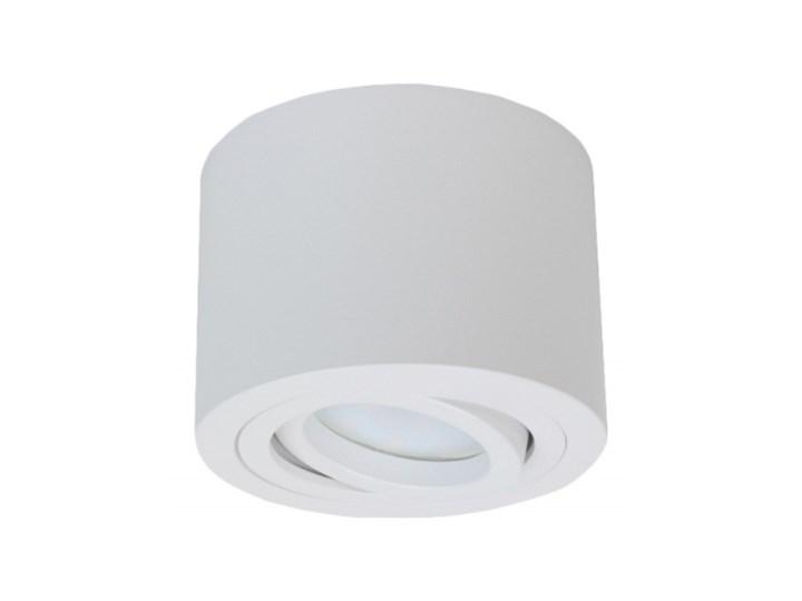 PP P 200 WH MIDI PLAFON NOWOCZESNA LAMPA SUFITOWA OPRAWA NATYNKOWA ALUMINIUM BIAŁY LED NISKI 6,5 CM