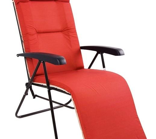 451457 Patio Fotel Ogrodowy Leżak 7 Pozycyjny Leżaki