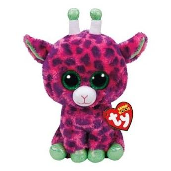 Maskotka TY INC Beanie Boos Gilbert - Różowa Żyrafa 24 cm 37142