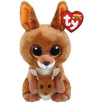 Maskotka TY INC Beanie Boos Kipper - Brązowy Kangur 15 cm 37226