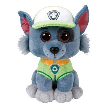Maskotka TY INC Beanie Babies - Psi patrol Rocky 15 cm 41212