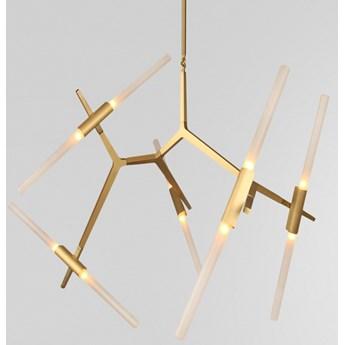 Structura gold - lampa nowoczesna