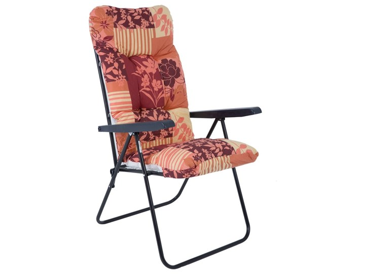 471645 Patio Leżak Fotel Ogrodowy 7 Pozycyjny Leżaki