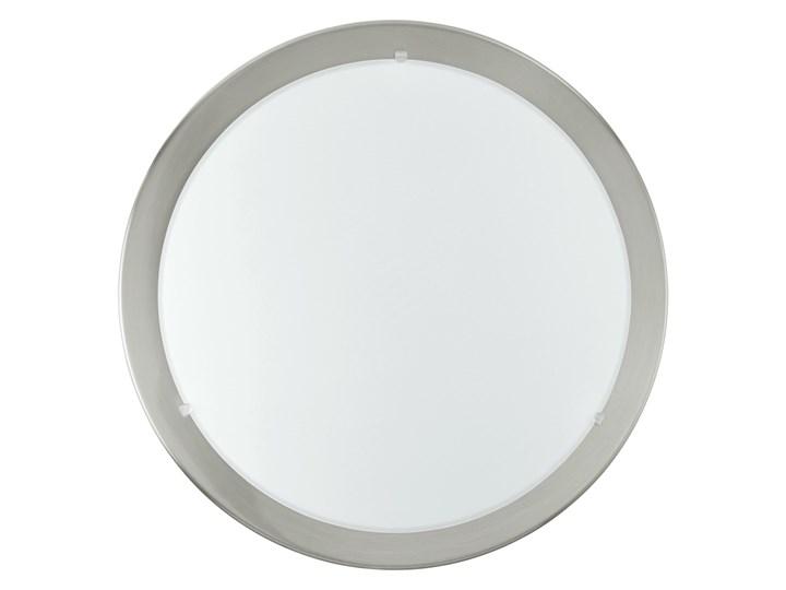 Plafon PLANET 1 Eglo styl nowoczesny stal nierdzewna szkło satynowane