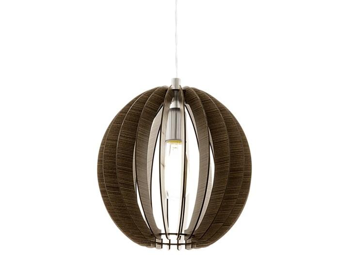 Lampa wisząca COSSANO Eglo styl ekologiczny, stal nierdzewna, drewno Metal Ilość źródeł światła 1 źródło