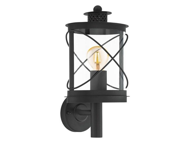 Lampa zewnętrzna ścienna HILBURN I Eglo styl klasyczny, stal nierdzewna, plastik Kinkiet ogrodowy
