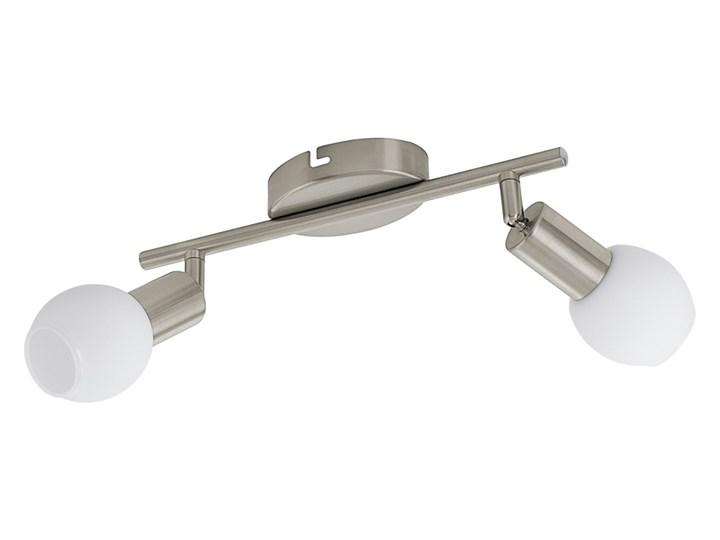 Kinkiet LED VEDRA 1 Eglo stal, szkło, nikiel satynowany, biały 96912 Metal Kinkiet z regulacją