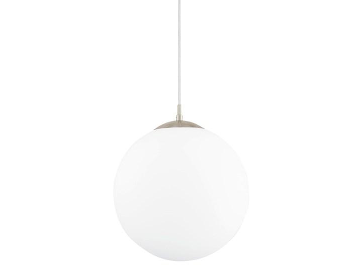 Lampa wisząca RONDO Eglo styl nowoczesny, stal nierdzewna, szkło mleczne Metal Ilość źródeł światła 1 źródło