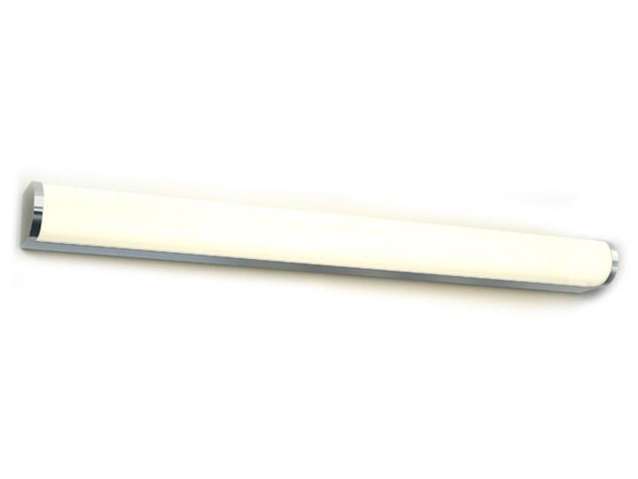 Kinkiet Led Petra Azzardo aluminium, tworzywo sztuczne Metal Kinkiet łazienkowy Galeryjki