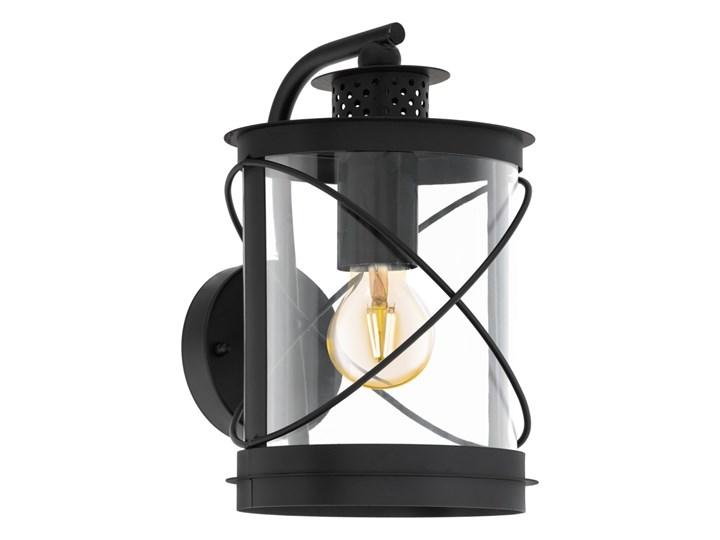 Lampa zewnętrzna ścienna HILBURN Eglo styl klasyczny, stal nierdzewna, plastik Kinkiet ogrodowy