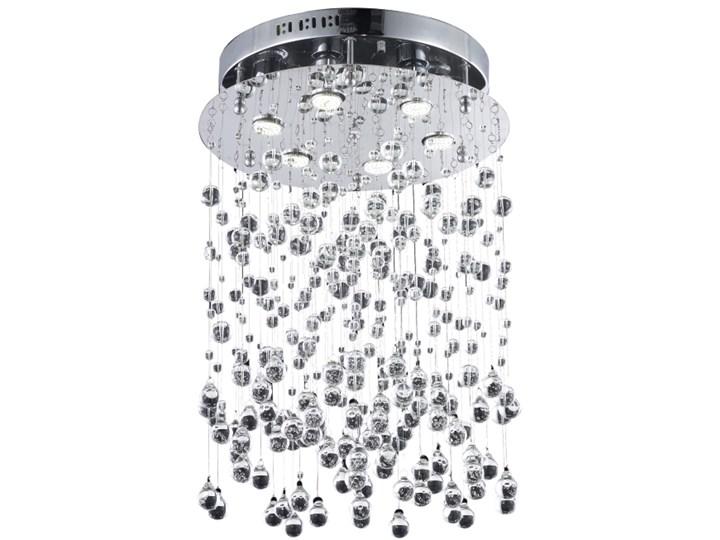 Lampa Przysufitowa Comet Azzardo styl glamour kryształ metal kryształ chrom przeźroczysty MX 9735B-6 metal chrome crystal