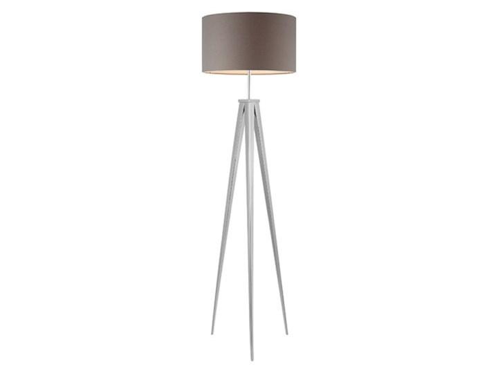Lampa Stojaca Sintra Azzardo metal, tkanina Lampa sztalugowa