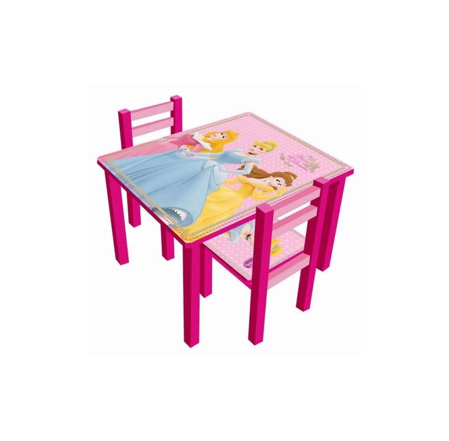 Stolik Dwa Krzesełka Disney Princess