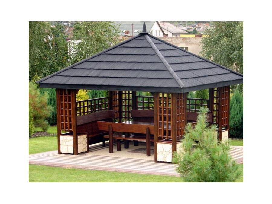 Altana ogrodowa z drewna altany ogrodowe zdj cia - Holzpavillon aus polen ...