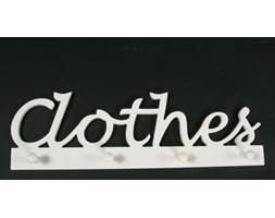 """WIESZAK ŚCIENNY """"CLOTHES"""""""
