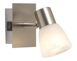 Kinkiet PARRY Globo styl nowoczesny nikiel szkło srebrny biały 54530-1