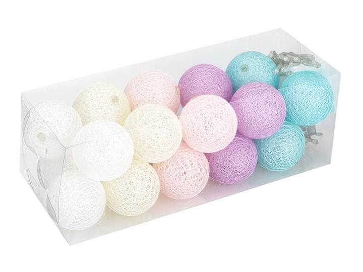 Cotton Balls Kule świecące Led 20 Sztuk Cb131 Cb131 Białe Odcienie Różowego Błękitne