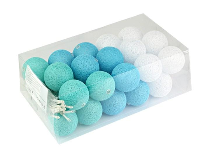 Cotton Balls Kule świecące Led 30 Sztuk Pastelowe Cb79 Cb79 Odcienie Niebieskiego Białe