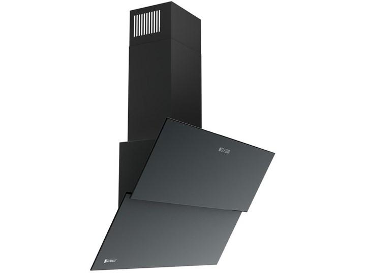 Okap GLOBALO Mirida 90.3 Czarny/BL Sterowanie Elektroniczne Szerokość 90 cm Okap przyścienny Poziom hałasu 63 dB