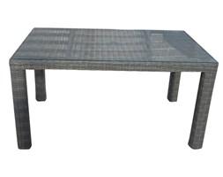Stół ogrodowy z blatem szklanym PONTE 150x90x78 cm