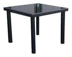 Stół ogrodowy z blatem szklanym SANTA FE 90x90x74 cm