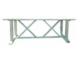 Stół drewniany bielony CONCEPT 220x100x78 cm.