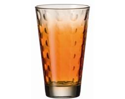 Szklanka 0,3 L pomarańczowa Leonardo Optic L-049416 + Transport juz od 8,90 zł