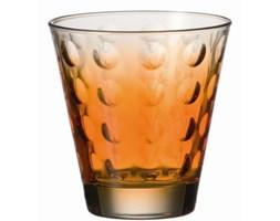 Szklanka 0,25 L pomarańczowa Leonardo Optic L-049412 + Transport juz od 8,90 zł