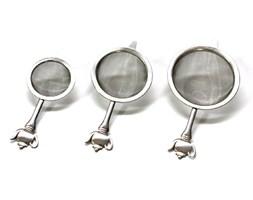 Zestaw trzech sitek do zaparzania herbaty Kuchenprofi KU-1045012800 + Transport juz od 8,90 zł