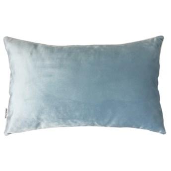 Welurowa poduszka Pastel Blue 30 x 50 cm
