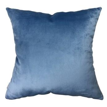 Welurowa poduszka Blue 50 x 50 cm