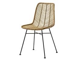 Rattanowe krzesło Lena Nature brązowy rattan